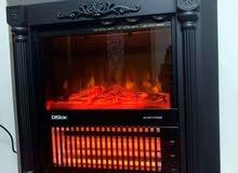 مدفئة الفحم الكهربائية اللاهبه المميزه عالية الفعاليه ماركة دايستار الاصليه
