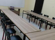 قاعات تدريب واجتماعات  مجهزة بالكامل  للايجار