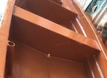 للبيع ماشوه 12 قدم مع مكينة ياماها مستعمله بس 3 طلعات بحاله الوكالة مع الأوراق