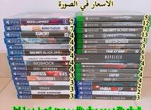 العاب ps4 و xbox one