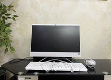 HP White Computer 21.5 inch for sale