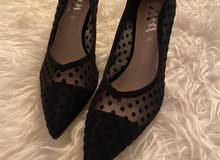 حذاء كعب زارا جديد