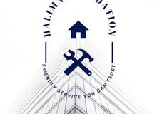 مؤسسة حليمة لاعمال الصيانة والتعهدات و بناء و تشطيب كافة المشاريع