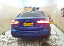 Blue Kia Forte 2014 for sale