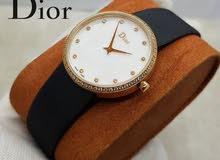 ساعة Dior درجة اولى مع علبتها