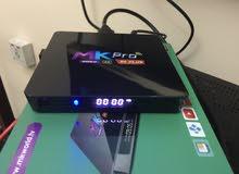 Mkpro s06 smart android 7 tv boxريسيفر