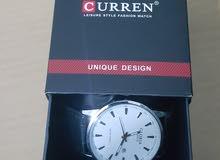 ساعة جديدة من ماركة CURREN