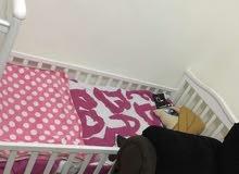 سرير اطفال ليكفي من سنتين ل 10 سنين من هوم سنتر بالمرتبه جديده بالكيس