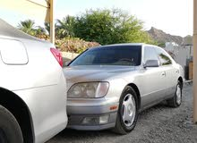 Used condition Lexus LS 1999 with +200,000 km mileage