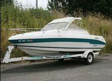 قارب امريكي سنة الصنع 1996 قارب نزهة سريع وصيد