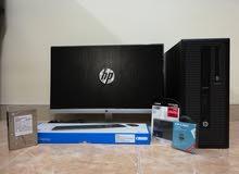 كمبيوتر مكتبي اتش بي - HP مواصفات عالية شبه جديد Ci7