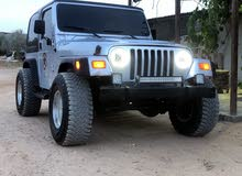 2002 Used Wrangler with Manual transmission is available for sale