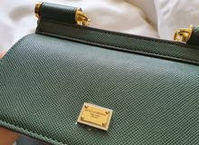 Dolce&Gabbana dauphine leather sicily COPY bag