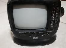 تلفزيون سيارة يعمل في البطاريه والكهرباء بحاله جيدة