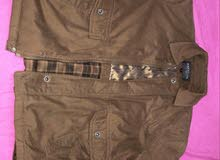 Cartello Fashion Mens Brown Winter Jacket for SALE