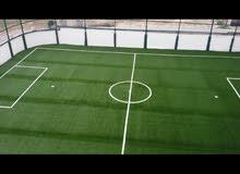 عشب صناعي خاص لملاعب كرة القدم منشأ تركي و سعودي وصيني