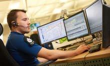 خدمة عملاء و call center في غرفة تحكم وسيطرة -  control room