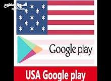 عمل حساب امريكي لجوجل بلاي وللتمتع بالمزايا الخاصة به