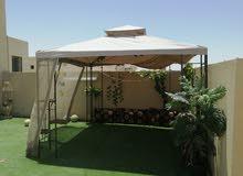 خيمة مع اغراضها للبيع
