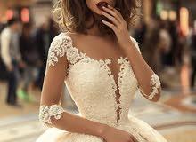 فستان زفاف موديل 2018