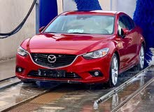 Automatic Red Mazda 2014 for sale