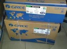 مكيفات GREE طنين  مع الضمان من الوكيل