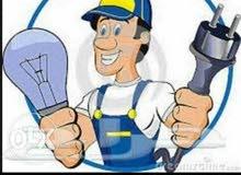 صيانه واصلاح جميع انواع اعطال الكهرباء المفاجئه  للتواصل 0789495309 جرش