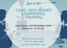 Anti-Money Laundering Training in Dubai, UAE