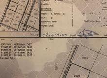 فرصة للبيع أرض سكنية في المعبيلة أول خط رئيسي شارع النور بمساحة 600م.