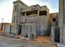منزل دورين مفصولين نظام شقق بعين زاره الكحيلي مساحة الارض 285م مسقوف 355م للبيع
