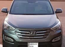 Santa Fe 2016 metallic grey colour for sale