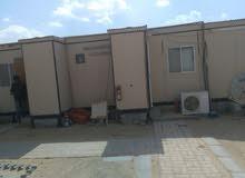 كرفانات خشب غرفتين وحمامين للبيع