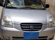 سيارة  كيا مورننق 2007 لون اسود لاصق رصاصي