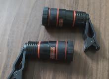 للبيع 2 عدسة كاميرا تكبير