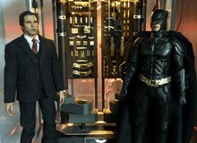 ORIGINAL HOT TOYS BATMAN ARMORY WITH BRUCE WAYNE AND WITHOUT ALFRED FIGURE