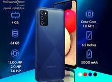 سامسونغ A02s الذاكرة 64G الرام 4G كفالة سنة Samsung