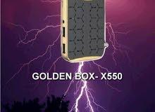 رسيفر Golden Box X550 إشتراك 5 سنوات