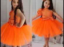 ملابس فساتين فستان بناتي تركي 100% لكل الاشخاص المميزين .