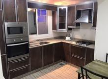 شقة راقية ومفروشة للايجار في قلالي غرفه واتنين صالة شامل الكهرباء 230 دينار