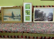 ثلاث لوحات متنوعة  Art boards