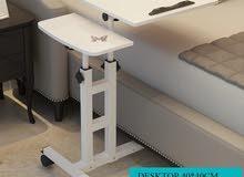 طاولة لابتوب مكتبية متحركة قابلة للطوي