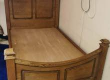 سرير ماليزي (خشب طبيعي) خشب بلوط صلب