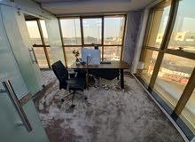 مكتب دعاية واعلان مساحة 130 م