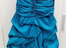 فستان سهرة قياس 42 معدل لقياس 38