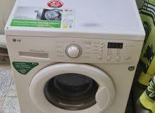 للبيع غسالةLG Washing Machine Front Door 7-KG Automatic Heavy Duty