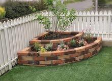 ديكورات خشبية ارضيات وحوائط وتنسيق حدائق
