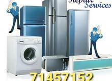 repair of refrigerator freezer washing machine Ac