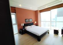 شقة حديثة التصميم للبيع - مفروشة بالكامل - 2 غرفة