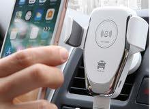 شاحن وحامل الجوال اللاسلكي للسيارة سريع وجودة عالية10w