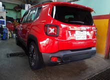 Automatic Red Jeep 2017 for sale